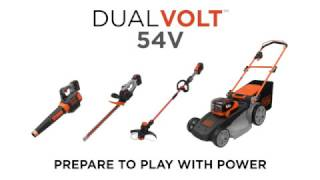 BLACK+DECKER™ DUALVOLT 54V Garden Range - Prepare to Play with Power