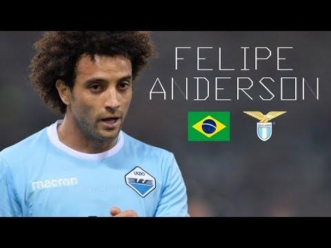 FELIPE ANDERSON - Crazy Skills, Runs, Goals, Assists - SS Lazio - 2017/2018