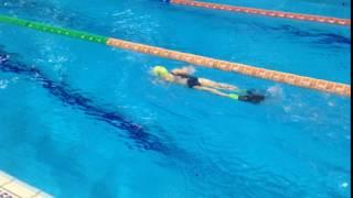 Занятия плаванием в школе плавания Север