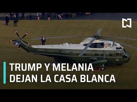 Trump deja la Casa Blanca - Despierta