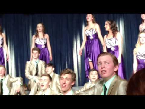 Ankeny High School VA singers performance