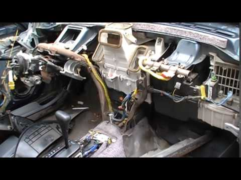 How to remove a heater core from a 1995 Civic