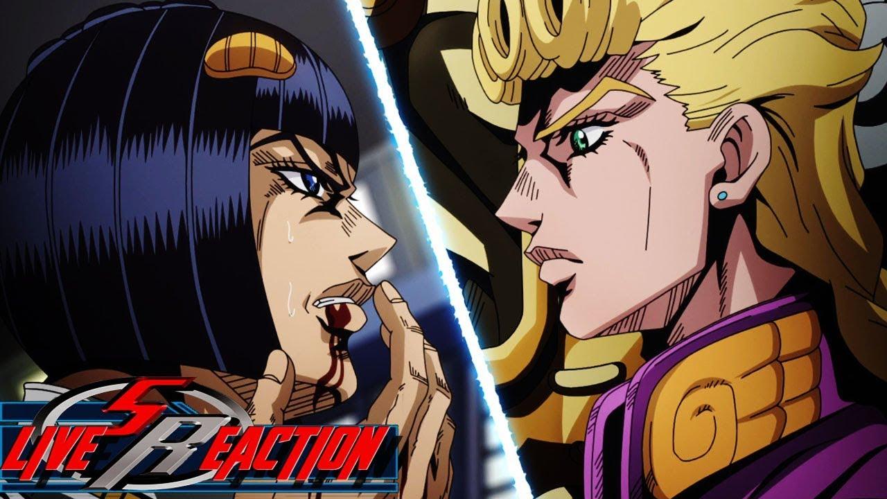 JoJo's Bizarre Adventure Part 5: Golden Wind Episode 2 LIVE REACTION -  Giorno vs  Buccellati
