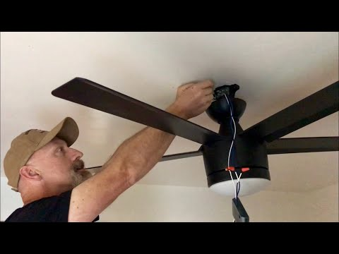 How to Install Ceiling Fans and Remote Control Wiring