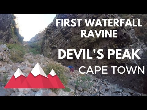 First Waterfall Ravine and Eastern Buttress - Devil