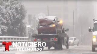 Alerta en Nueva York ante poderosa tormenta de nieve | Noticiero | Noticias Telemundo