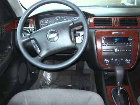 2007 Chevrolet Impala Ls Auto 3 5l Flex Fuel Silver Youtube
