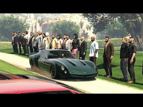 CAR MEET ON GTA 5 ONLINE - PS4
