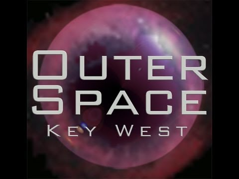 Outer Space in Key West, a pop up venue and garden bar.