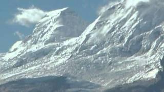CORDILLERA BLANCA desde la Cordillera Negra