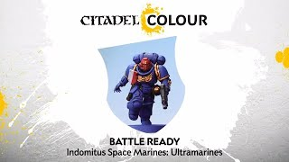 How to Paint: Battle Ready Indomitus Space Marines - Ultramarines