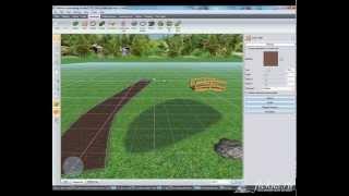 Уроки Realtime Landscaping Architect   Урок №6   настройка территории