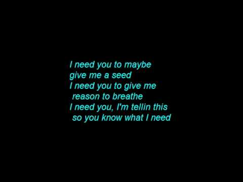 50 CENT ft NE-YO - Baby by me Lyrics on screen