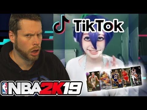 Can Tik Tok draft me a NBA 2K19 team?