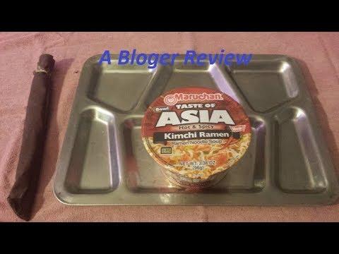 Mini Food Review Taste of Asia Hot&Spicy Kimchi Ramen