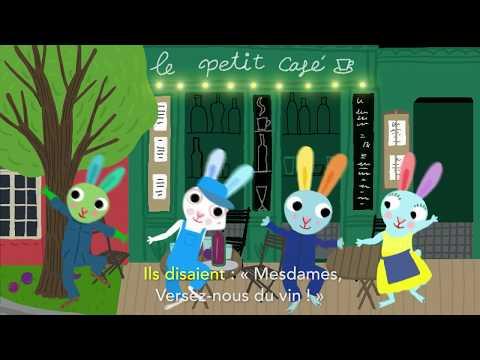 Au Clair De La Lune, Trois Petits Lapins - Chansons Et Comptines Pour Enfants Avec Pinpin Et Lili
