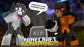 Minecraft - EVIL DONUT KIDNAPS CASSIE THE CAT!!!! - Donut the Dog