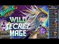 Wild Secret Mage Deck | Rastakhan's Rumble | Hearthstone