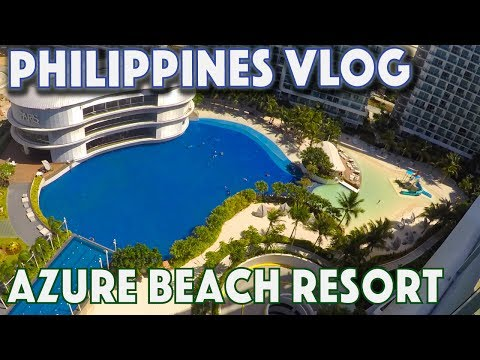 AZURE Paris Hilton Beach club Manila Philippines Urban Resort Staycation Paradise