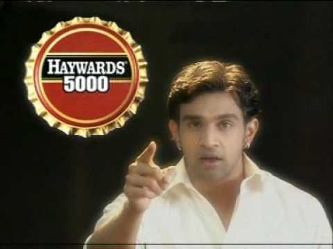 Chiranjivi Sarja in Haywards 5000 soda on Kasturi TV.DAT