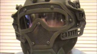 Airsoft AWT Armor Warrior Tactical G4 protection unboxing and review