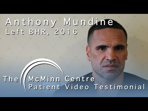 Boxing Champion Anthony Mundine travels to UK for BHR surgery with Mr McMinn