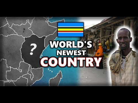 Could this be the World's Newest Country? People of the East