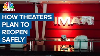 How movie theaters plan to reopen safely amid the coronavirus pandemic: Cineworld CEO