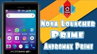 Cara seting Nova Louncher Andromax Prime