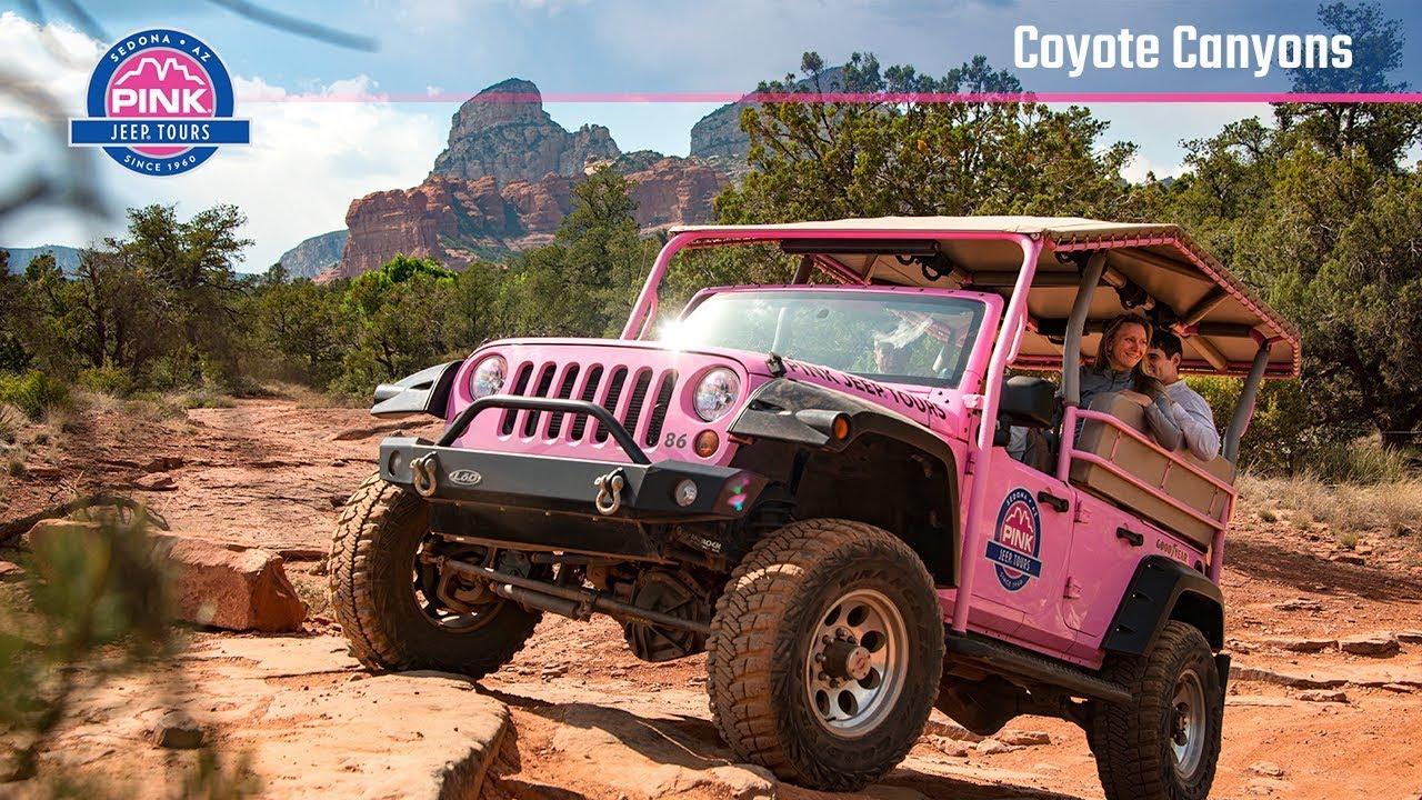 Jeep Tours In Sedona Az Coyote Canyon Tours Pink Jeep Tours