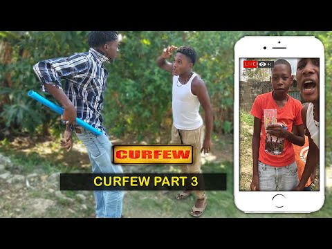 Curfew Part 3 [ Javaughn hinds Comedy ]