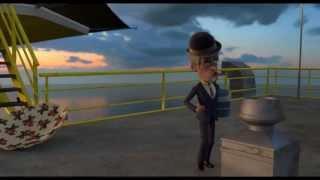 Olsen Banden på dybt vand klip: Luft i paraplyen