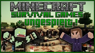 Einmalige Facecam, ungespielt und Adventuremaps - Minecraft Survival Games