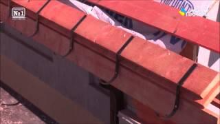 Монтаж карнизной планки и крюков для водостоков(, 2015-04-29T18:09:08.000Z)