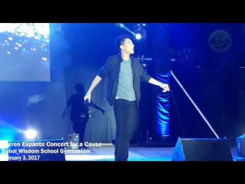 Darren Espanto Concert for a Cause at Bohol Wisdom School Gymnasium (02/03/2017)