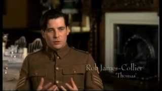 Downton Abbey Behind the Scenes - Thomas and O'Brien