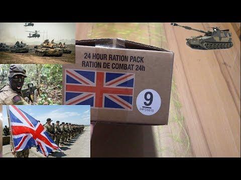 СухПай Британской Армии