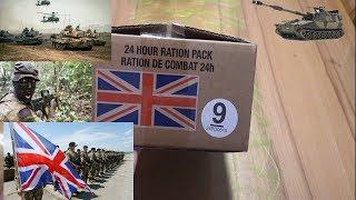 СухПай Британской Армии на 24 часа вар. 9. Сухой паёк Британии. ИРП