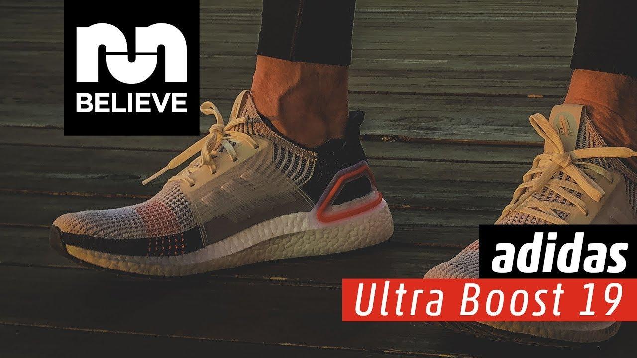3de04ef5c4c47 Adidas Ultraboost 19 Video Performance Review - YouTube