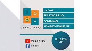 Devocional Quarta 14/10/20 - Rev. Ronildo Farias