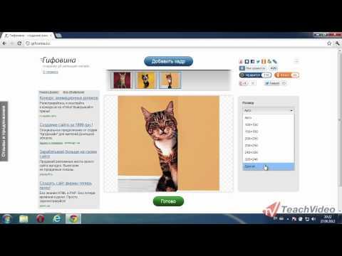 Создать GIF онлайн создание gif анимации, сделать гиф на