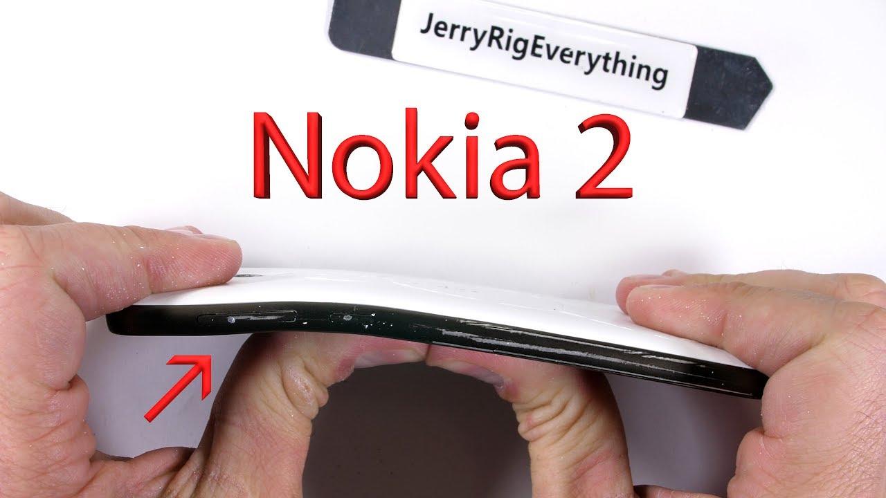 Uji ketangguhan Nokia 2