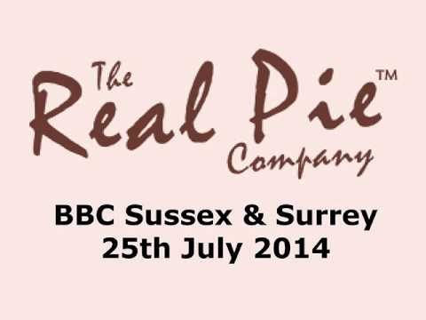 The Real Pie Co on BBC Sussex / Surrey Fri 25th July