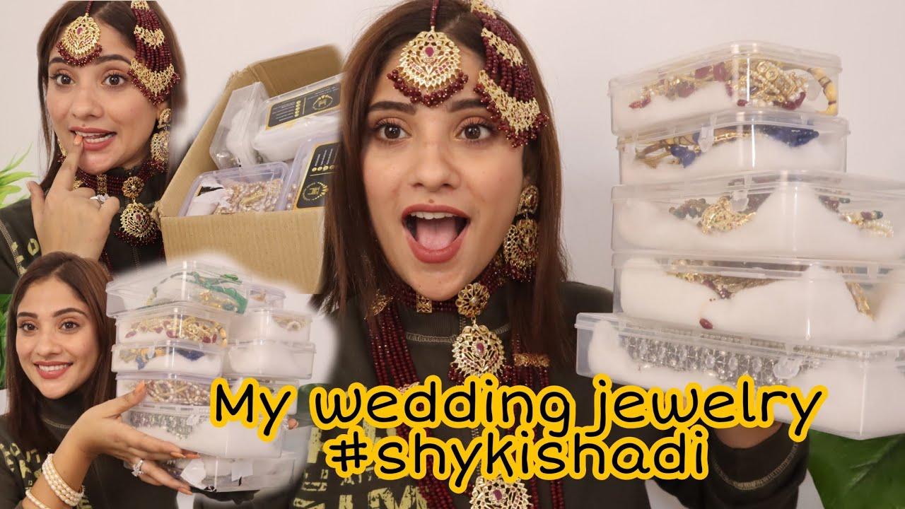 My wedding jewellery haul     #shykishadi