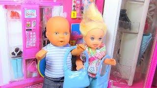 Катя и Макс. Порвали новую сумку мамы. Мультик про кукол.