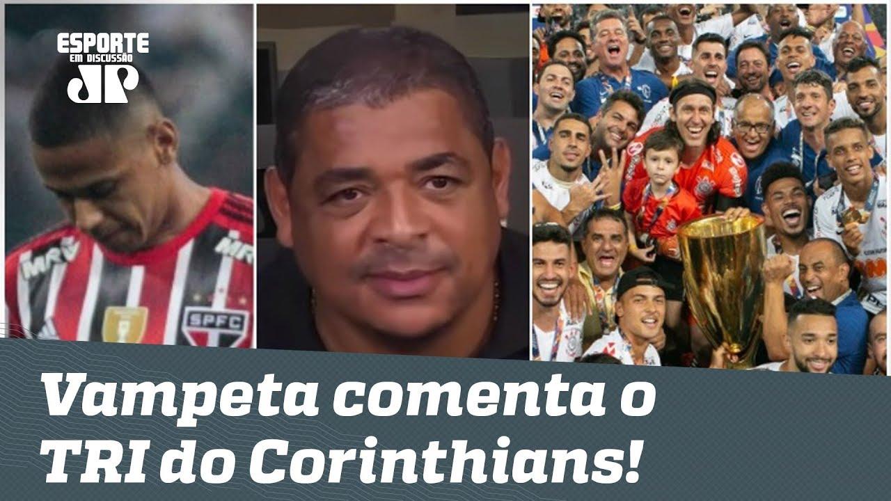 Deu a lógica? OLHA o que VAMPETA falou após o TRI PAULISTA do Corinthians!