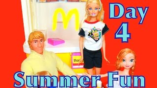 Play with Barbie McDonald's Vintage Toy Summer Countdown