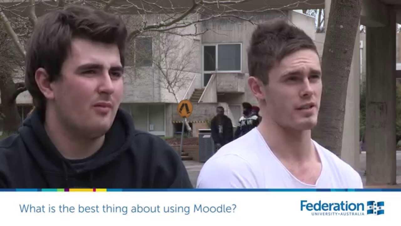 moodle federation university