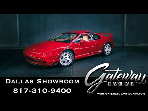 1997 Lotus Esprit V8 Twin Turbo S4 - Gateway Classic Cars of Dallas #1018