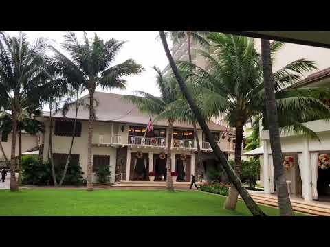 Halekulani Resort on Waikiki Beach